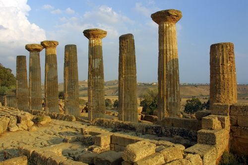 Valley of the Temples Agrigento Sicily Italy