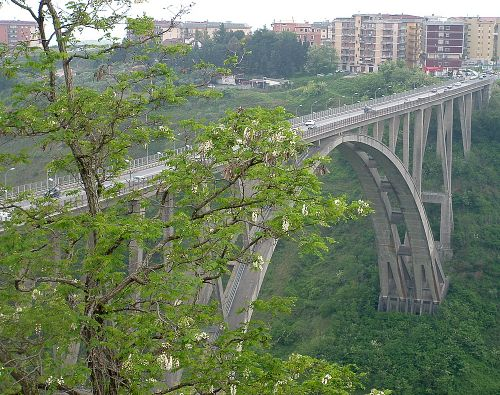 Catanzaro bridge Italy