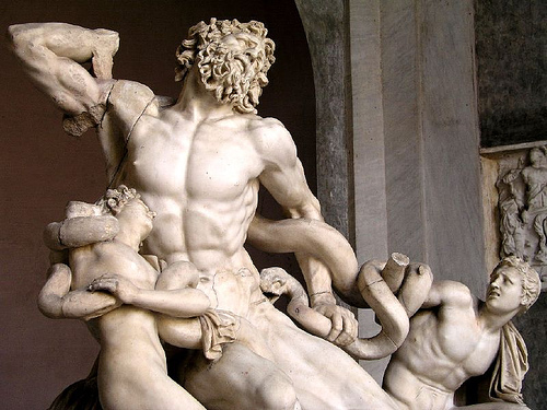 Laocoon group best museums in Italy