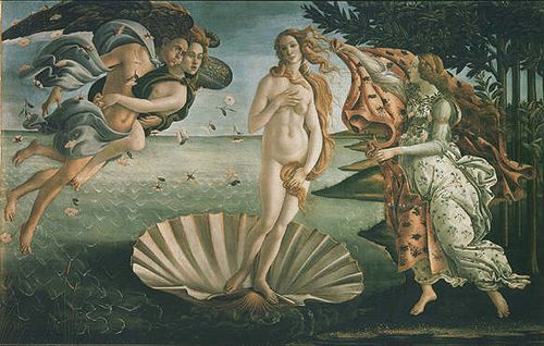 Which museums to visit in Italy, Botticelli, Birth of Venus