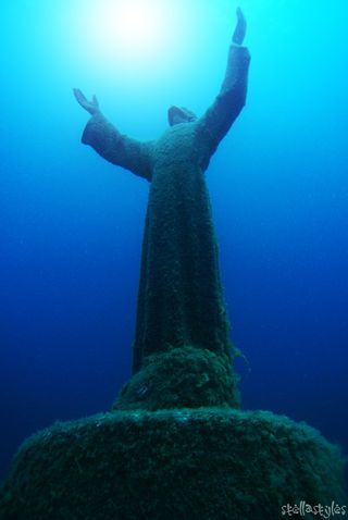 Christ of the abyss stella styles flickr
