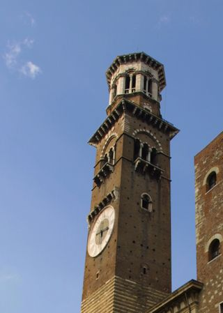 Verona tower crop