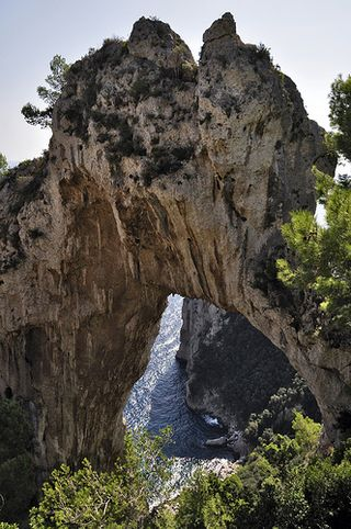 Natural arch capri dr tr flickr