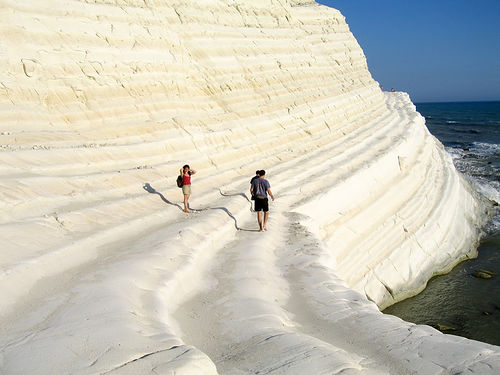 Scala dei turchi w people myriapod flickr
