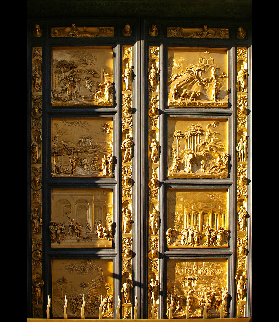 Artist Giorgio Vasari described Ghiberti\u0027s famous doors (photo above) as \u201cundeniably perfect in every way and must rank as the finest masterpiece ever ...