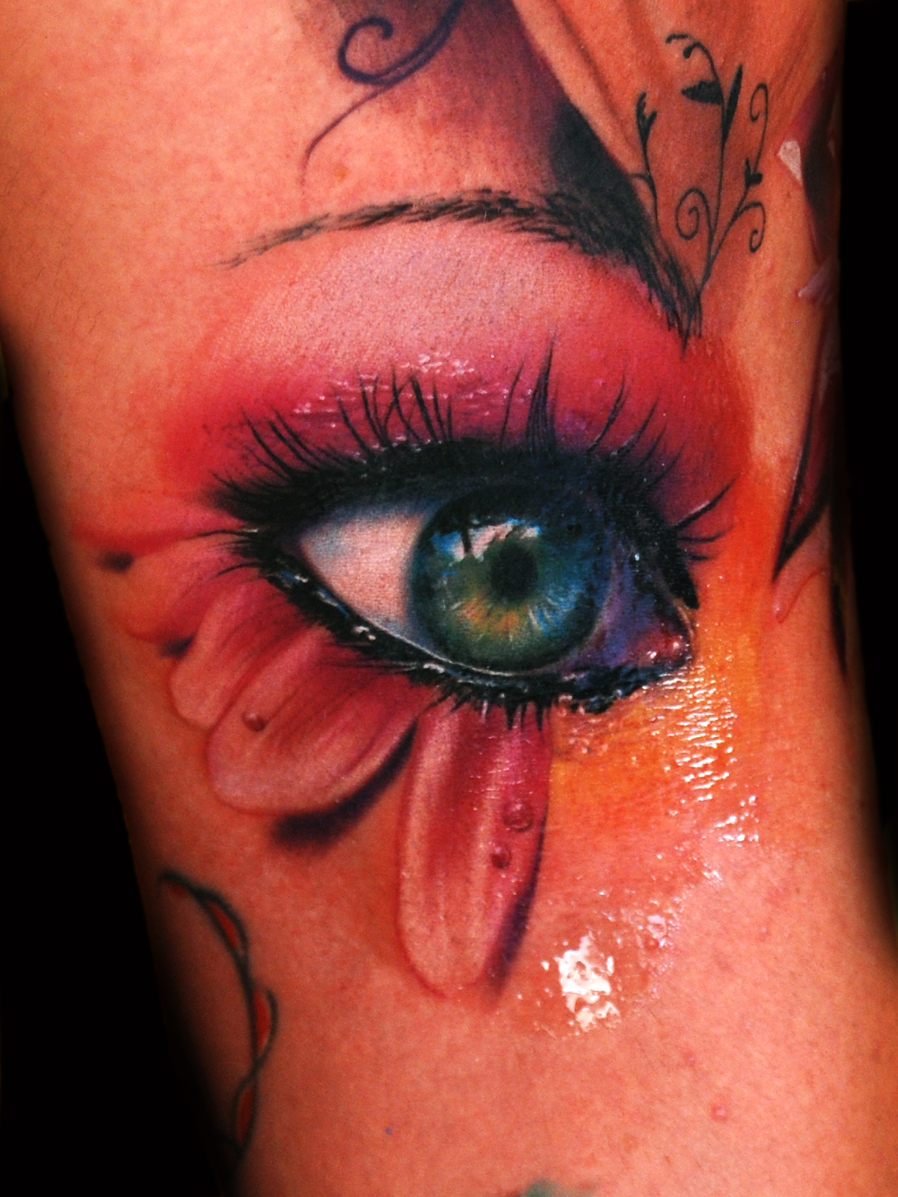 an incredible tattoo artist near venice alex de pase ForEye Tattoo Art