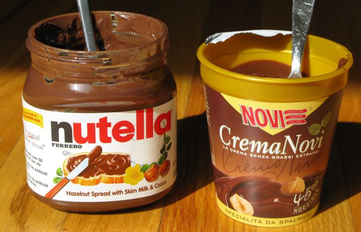 Nutella in Italy