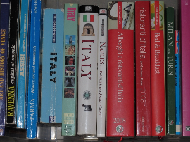 Italy guide books