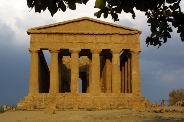 Valley of Temples Agrigento Sicily Italy