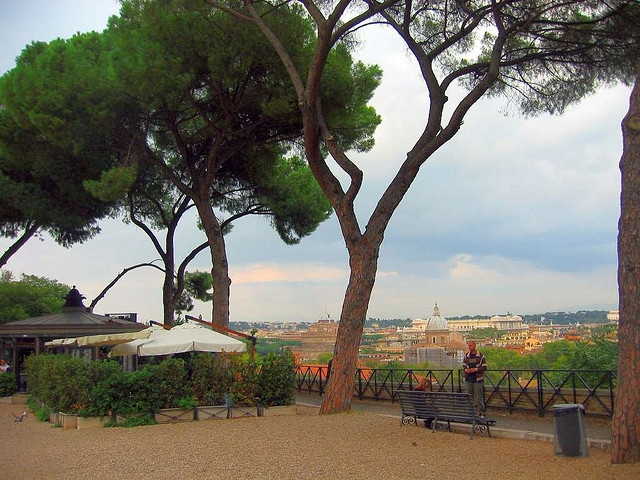 View from Janiculum Hill by Leo-setä