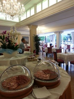 Trieste and Victoria hotel Abano Terme Hotel Italy