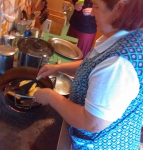 Cooking class in the Dolomites Frittelle