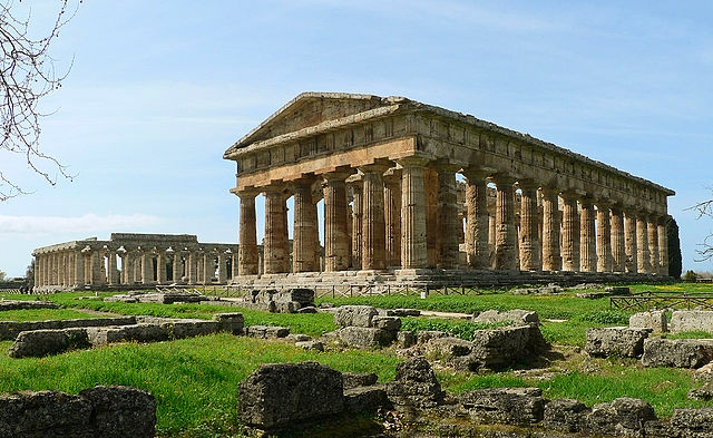 Off the beaten track near the Amalfi Coast, Paestum