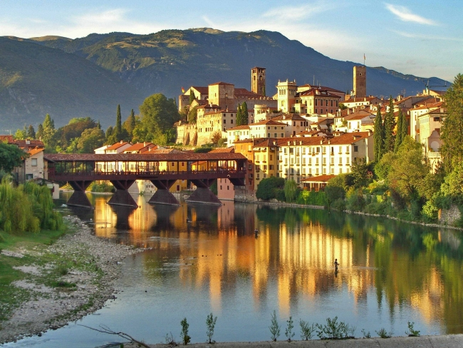 Off the beaten track near Venice, Bassano del Grappa