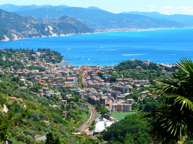 Off the beaten track near the Cinque Terre, Santa Margherita Ligure Italy