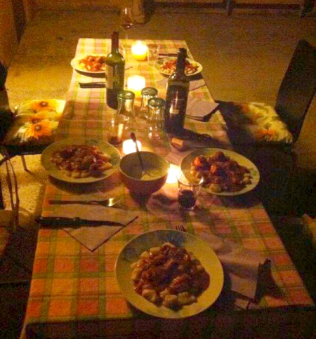 Italian hospitality, home-cooked food and new friends