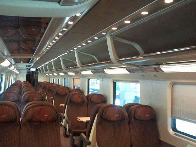 Italian train travel, second class