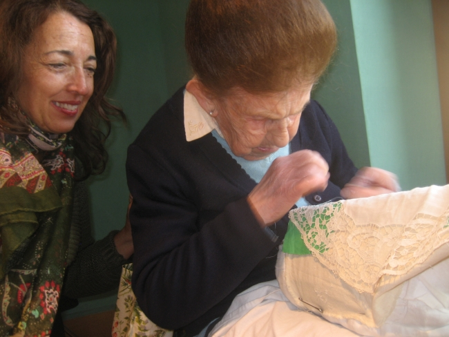 Lace shops in Burano: excerpt from '50 Places in Rome, Florence, and Venice Every Woman Should Go'