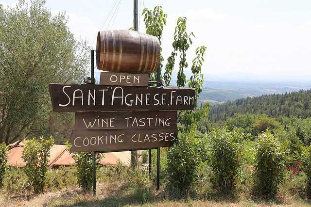Sant'Agnese farm, Tuscany, Italy