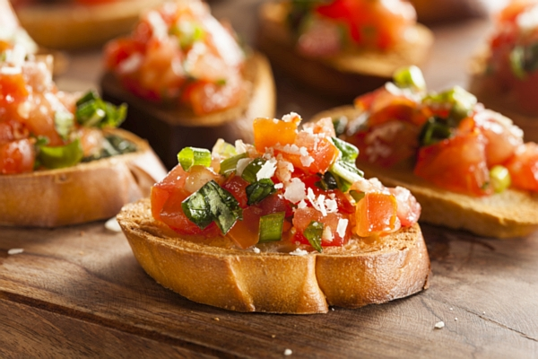 Food tours in Italy, bruschetta