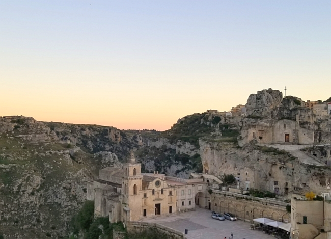 What do to in Matera